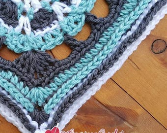 Eunice Circle in A Square Crochet Pattern