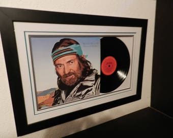"""Willie Nelson""""Always On My Mind""""lp framed"""