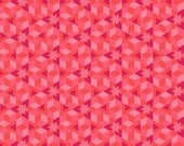 Fabric by the Yard --  Starfish in Coral from Diving Board by Alison Glass