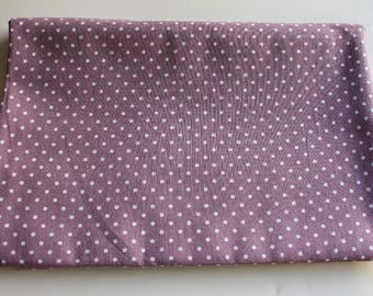 Polka Dots Linen Like Fabric