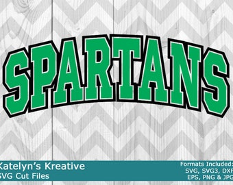 Spartans Arched SVG Files