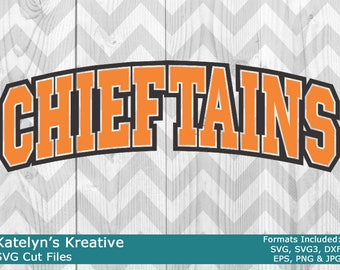 Chieftains Arched SVG Files