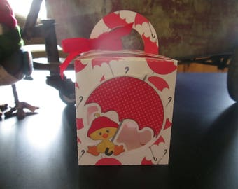 Little Duckling Favor Boxes Set of 12 with Free Shipping