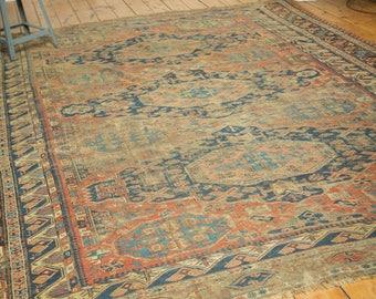 8x10.5 Antique Caucasian Soumac Carpet