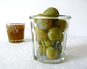 Big French vintage Jam Jar, French Glass Jar, Jam, French Jam, french kitchen French Glass