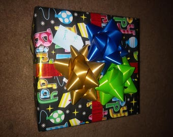 Gift wrapping, add-on item.