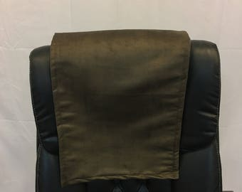 Suede, espresso, 14x30, Sofa, Loveseat, Chaise, Theater Seat, RV Cover, Chair Caps, Headrest Pad, Recliner Head Cover, Furniture Protector