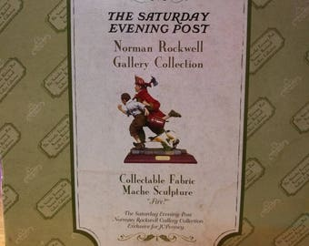 Norman Rockwell FIRE Sculpture Collection