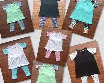 70% Off Raglan Dress & Legging Set 3-6 Months
