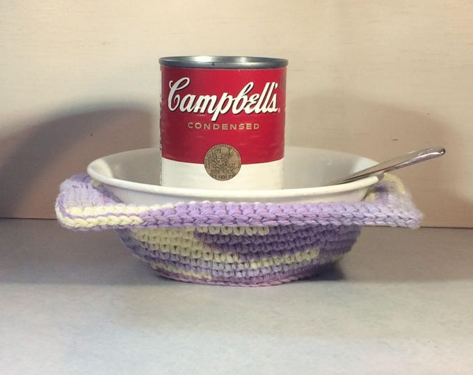Microwave Bowl Cozy, Bowl Cozy, Soup Bowl Cozy, Bowl Cover, Bowl Cozy for Microwave, Ice Cream Bowl Cozy