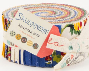 Savonnerie, fabric collection by American Jane for Moda Fabrics - 1 Jelly Roll