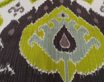 """Pillow Covers, Made From Vilber Ikat Fabric (2) 22"""" x 22"""" or Smaller"""