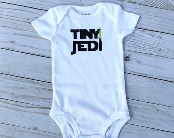 Newborn Tiny Jedi Bodysuit