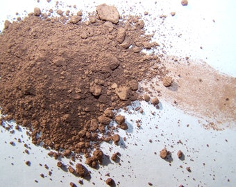 Medium Deep 9 Mineral Foundation - Soft Matte Foundation In a Tin - Zero Waste  - Vegan Makeup