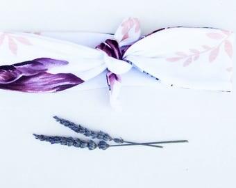 Turban Headband - Baby Turban Headband - Floral Baby Turban Headband