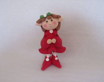 Whimsical Christmas Elf