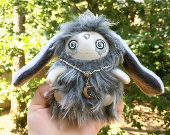 READY TO SHIP, Mini Dreamy Star Creature Art Doll