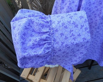 Bonnet Lavender Floral One Size