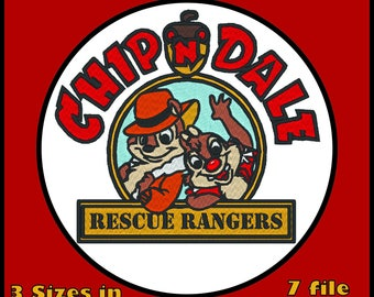SAVE ON Package Deal - Chip and Dale Rescue Rangers - Machine Embroidery File Download Digital Download