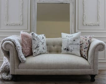 Chesterfield Sofa For Dolls ~