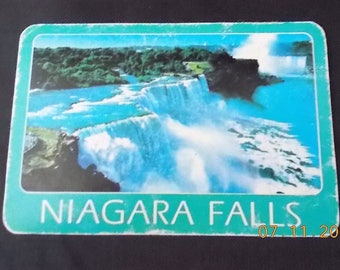 6 Swap Cards - Vintage Niagara Falls - Playing Cards - Art Journal, Collage, Mixed Media Art, Assemblage, Scrapbook, Altered Art Supply