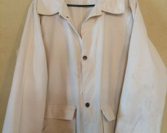 Beige Country Western Cowboy Duster Costume Coat