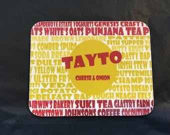 Tayto coaster