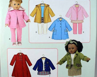 Simplicity 3551 18 Inch Doll clothes