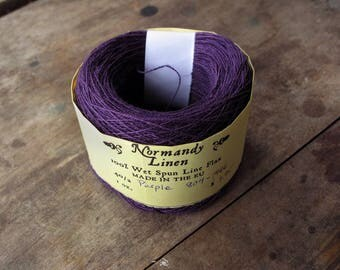 40/2 Purple Normandy Linen Thread