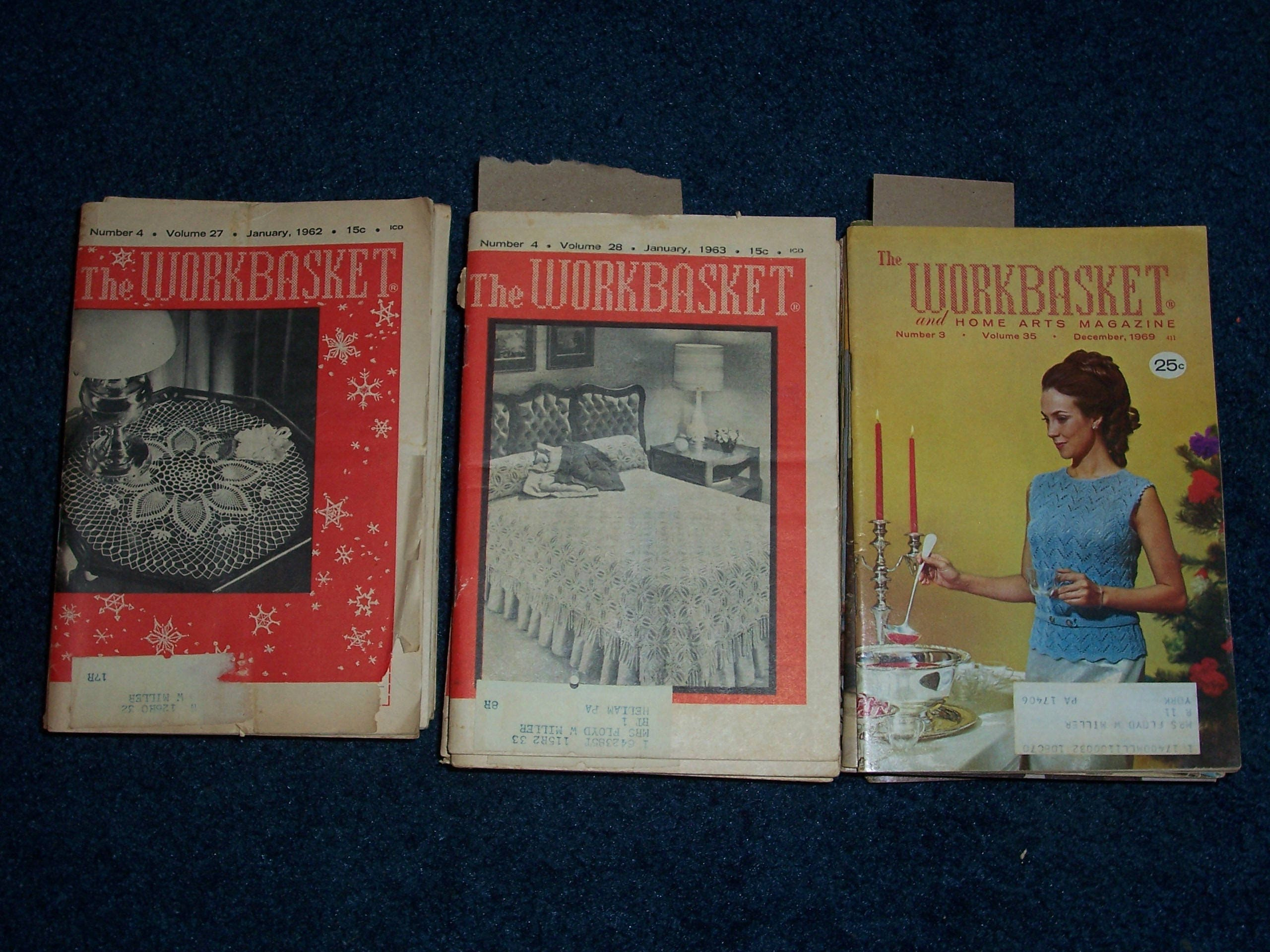 Compete year of 1962 or 1963 or 1969 workbasket magazines1952 9 800 bankloansurffo Choice Image