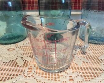 Vintage Anchor Measuring Cup