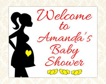 Personalized Welcome Sign, Ready To Pop Baby Shower Sign, Custom Popcorn Baby Shower Decorations, Carnival Shower, Movie Baby Shower, DIY