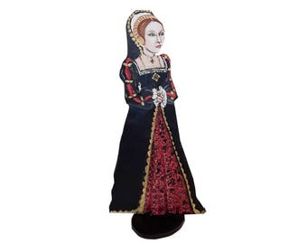 Catherine Howard  Hand Painted 2D Art Figurine