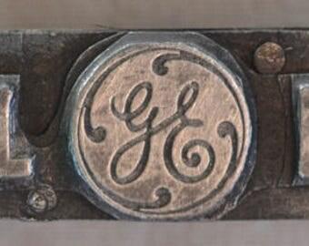 General Electric Print Block