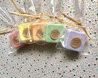 Wedding Favors - Soap favors - Bridal Shower - Party Favors - Rustic Wedding - Custom Wedding Favors in your Wedding colors