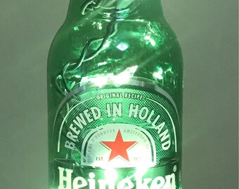 Lighted Bottle Heineken