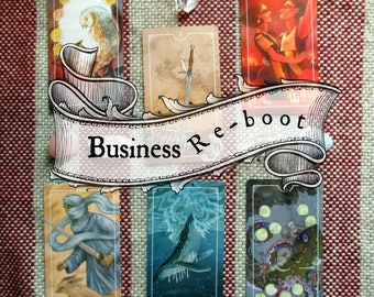 Business Re-boot : A 6 Card Tarot & Oracle Reading for accessing where your business stands now and where it's headed
