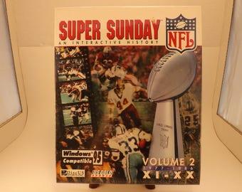 Super Sunday Volume 2 for Windows 95 Vintage Software - Factory sealed