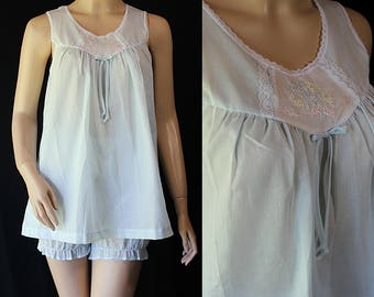 Carole Babydoll Pajama, NOS, Deadstock Lingerie, Gift for her