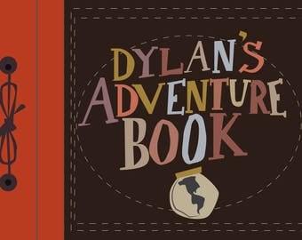 "custom ""dylan's"" my adventure book.. pixar up.. digital download"