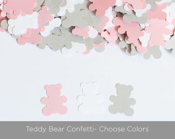 Teddy Bear Confetti,  Teddy Bear Baby Shower Decor