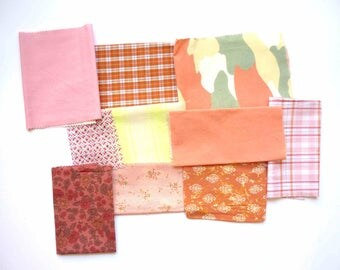 set of fabrics for patchwork 207 coupons