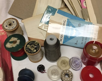 junk drawer lot of sewing notions number 3