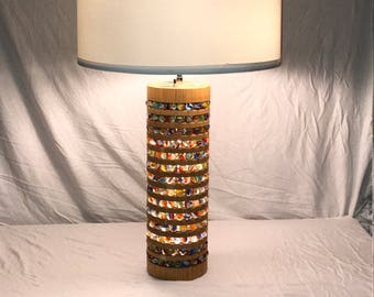 Handcrafted Marble Lamp