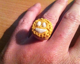 "Ring ""choco"" REF 01 vanilla cookie"