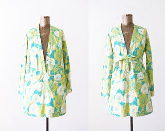 Vintage Lilly Pulitzer Dress / The Lilly / 1960s Lilly Pulitzer Swim Cover Up / Retro Mini Dress / Summer Clothing / Vacation Dress