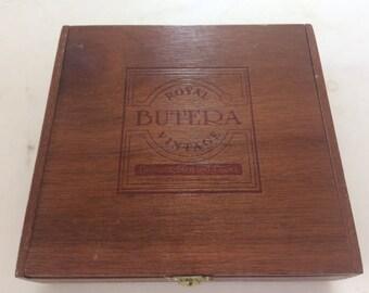 cigar box vintage Royal Butera