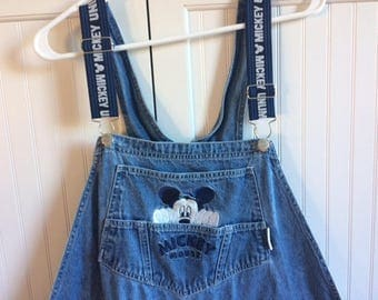 mickey mouse overalls 22w/24/w