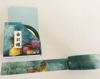 Winter Pagodas Washi Tape