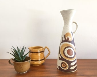 Mid Century Pottery Vase by Lapid Israel (Vered)